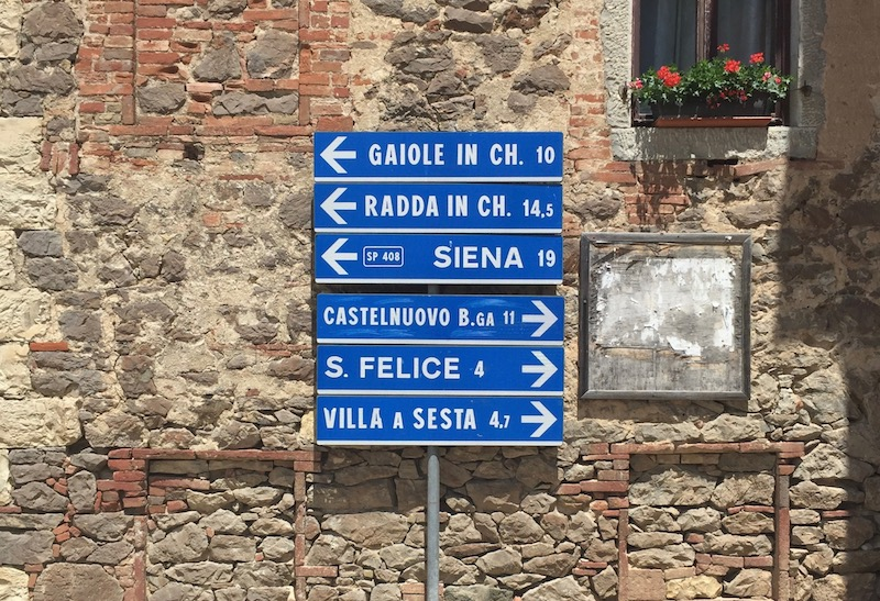 Chianti signs